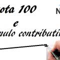 Pensione Quota 100 e cumulo contributivo