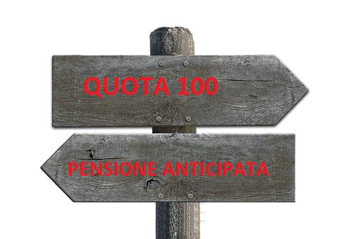 In pensione con la quota 100 con finestre o con l'anticipata: quale arriva prima?
