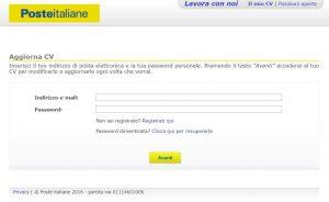 Lavoro: previsti 7.500 posti disponibili con le Poste Italiane