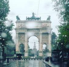 Maltempo a Milano
