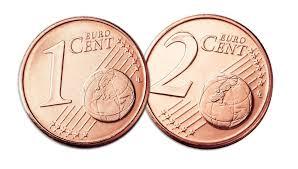 monete da 1 e 2 centesimi scompariranno