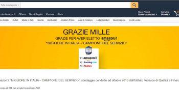 Amazon: sconto di 10 euro