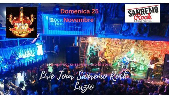 32° Sanremo Rock & Trend Festival: domenica 25 novembre 1° tappa di selezioni live per il Lazio