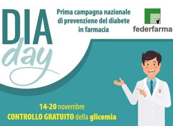 Diabete: Analisi della glicemia gratis nelle farmacie