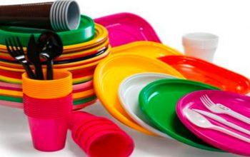 piatti di plastica monouso ritirati dal commercio