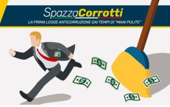 """LLegge """"Spazzacorrotti"""": italiani in piazza contro la corruzione"""