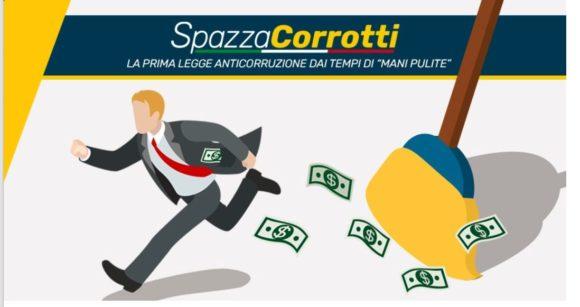 """Legge """"Spazzacorrotti"""": italiani in piazza contro la corruzione"""