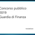Bando 2019 per entrare nella Guardia di Finanza