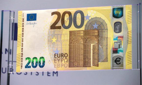 Nuove banconote da 100 e 200 euro: da quando in corso?