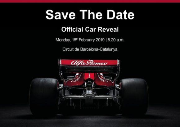 Alfa Romeo Sauber: ecco quando debutterà la nuova monoposto