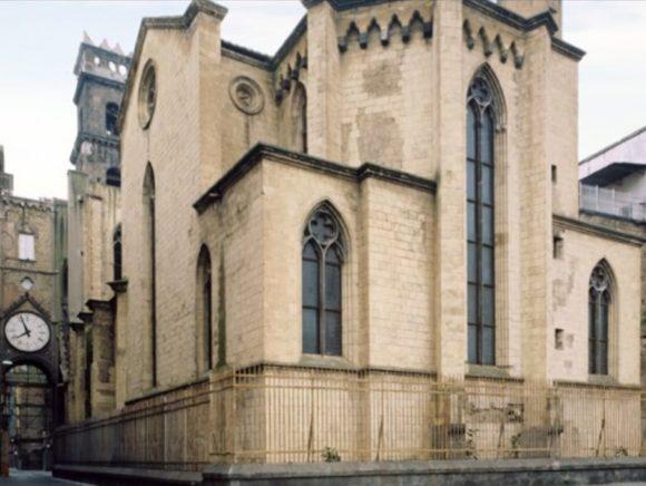 Napoli, il gotico di Sant'Eligidio e la regina Isabella di Trastamara