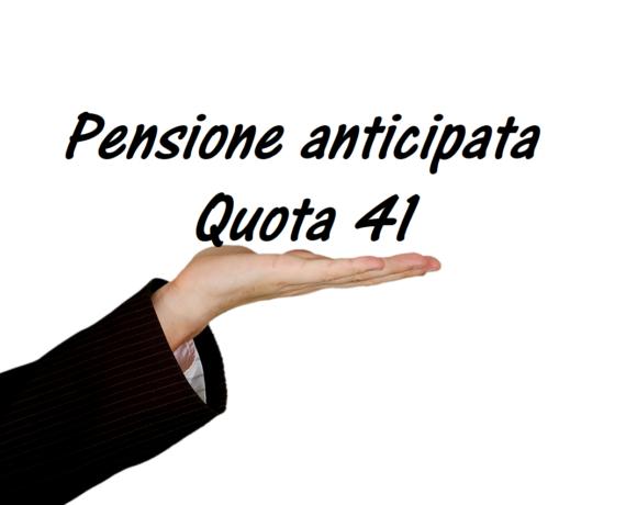 pensioni lavoratori precoci quota 41