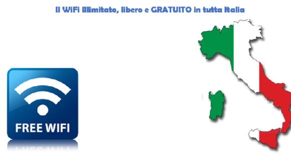 WiFi gratis in Italia, dite addio agli operatori telefonici