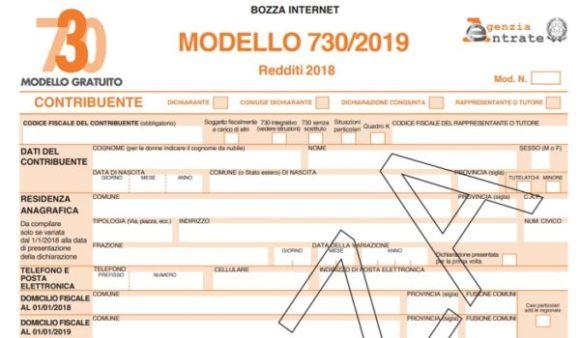 730/2019, bozza modello e guida completa alle detrazioni scuola, casa e sanitarie