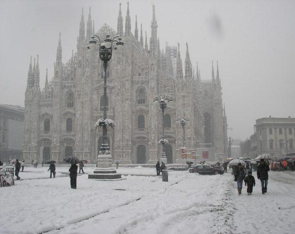 Maltempo, neve e freddo in Italia