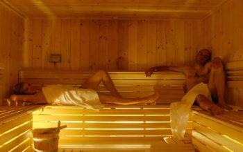 l'utilizzo della sauna