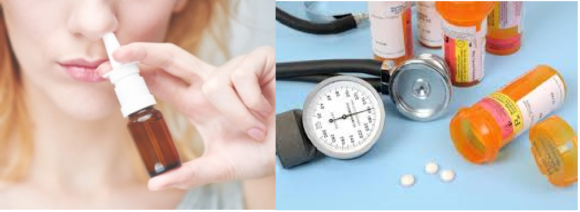 Spray nasale e farmaco antidepressivo, ritirati dalle farmacie, rischio per la salute, marca e lotti