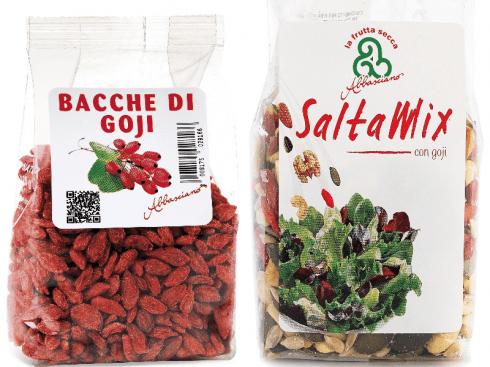 Bacche di Goji e mix frutta secca Saltamix con Goji con residui fitosanitari, ritiro immediato
