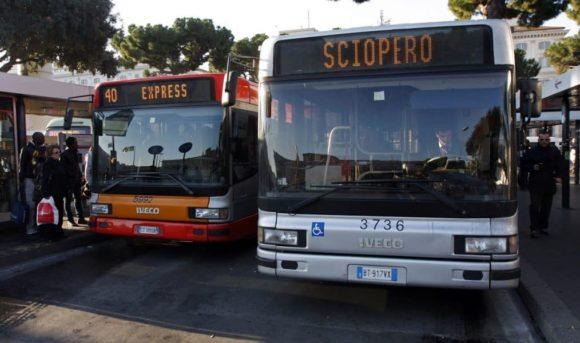 Sciopero trasporti pubblici Roma 12 febbraio: i bus a rischio