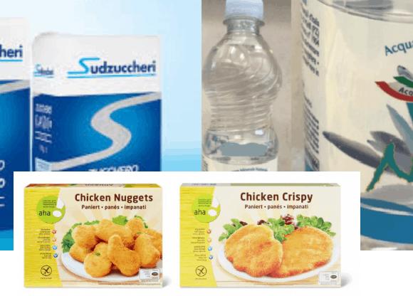 prodotti alimentari pericolosi per la salute