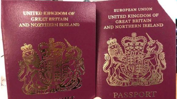 """Brexit: passaporti del Regno Unito emessi senza etichetta """"UE"""", preoccupazione per i viaggiatori"""