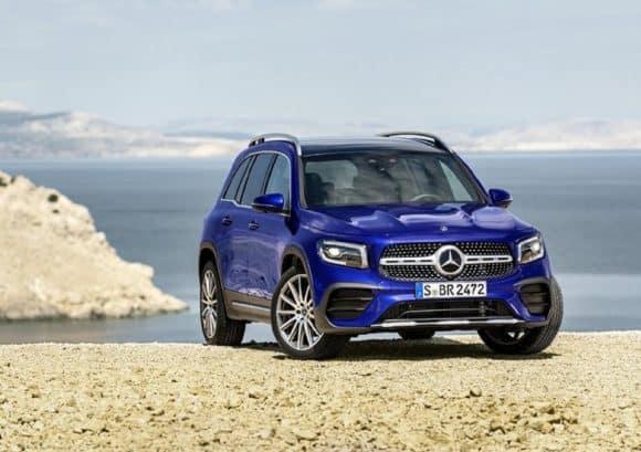 Nuova Mercedes GLB, il nuovo suv compatto