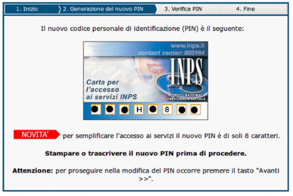Come recuperare il PIN INPS smarrito: procedura