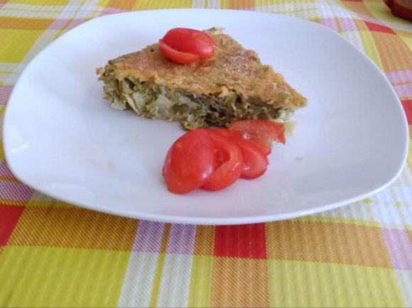 Torta salata di fagiolini e patate: ricetta semplice e gustosa