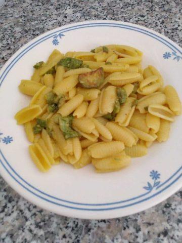 Gnocchetti sardi con zucchine e zafferano