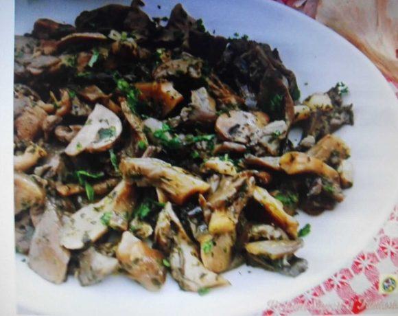 funghi in padella