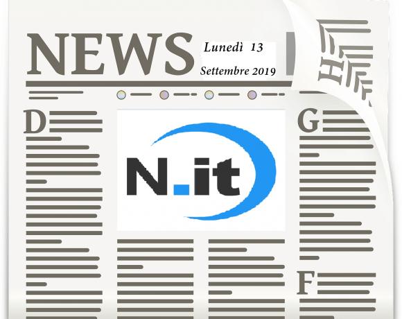notizie 13 settembre 2019