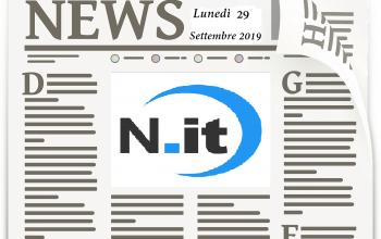 Notizie 27 settembre 2019