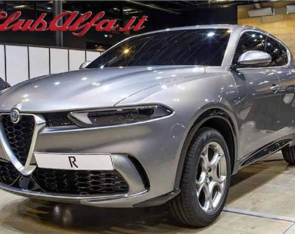 Alfa Romeo Tonale pre produzione
