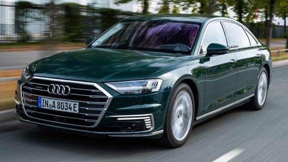 Audi A8: arriva la versione ibrida plug-in
