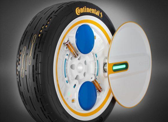 Continental sviluppa una gomma che può gonfiarsi durante la guida