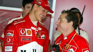 Jean Todt e Michael Schumacher