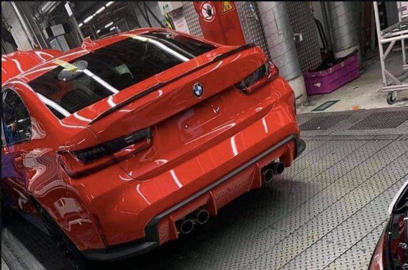 Nuova BMW M3: immagine rubata fa il giro del web