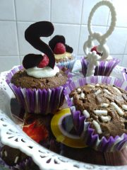 muffin decorati