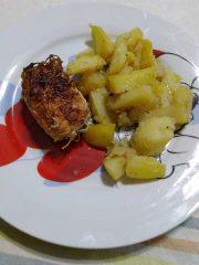 pollo e patate