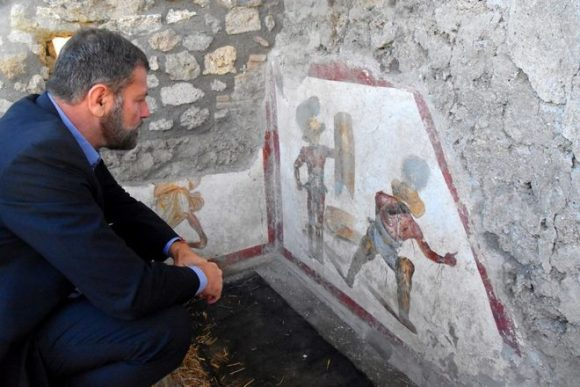 Sensazionale scoperta a Pompei, un nuovo affresco ci fa conoscere la realtà antica
