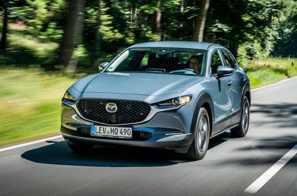 Mazda CX-30 ottiene punteggio record nei crash test Euro NCAP
