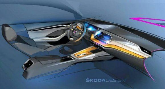 Nuova Skoda Octavia: svelati gli interni a pochi giorni dal debutto