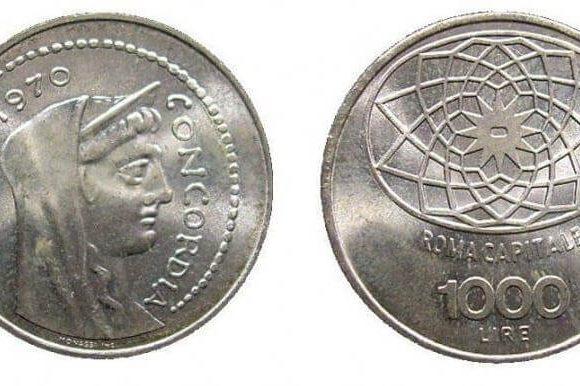 1000 lire argento