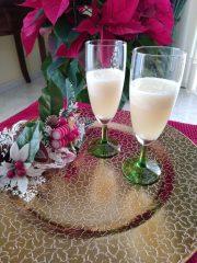 aperitivo ananas e spumante