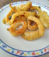 seppia calamaro gratinato