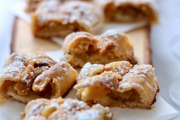 Strudel di mele: facile da fare, bello da vedere e gustoso