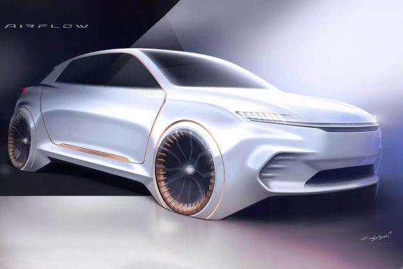 Fiat Chrysler: il concept Airflow Vision sorprenderà il CES con interni futuristici