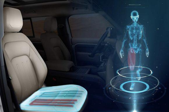 Jaguar Land Rover ha progettato un nuovo sedile per auto che cambia forma