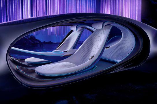 """Mercedes svela VISION AVTR, una concept car ispirata a """"Avatar"""""""
