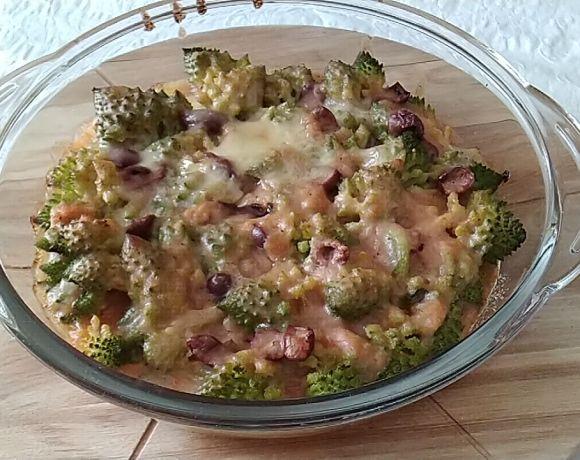 broccolo romano gratinato